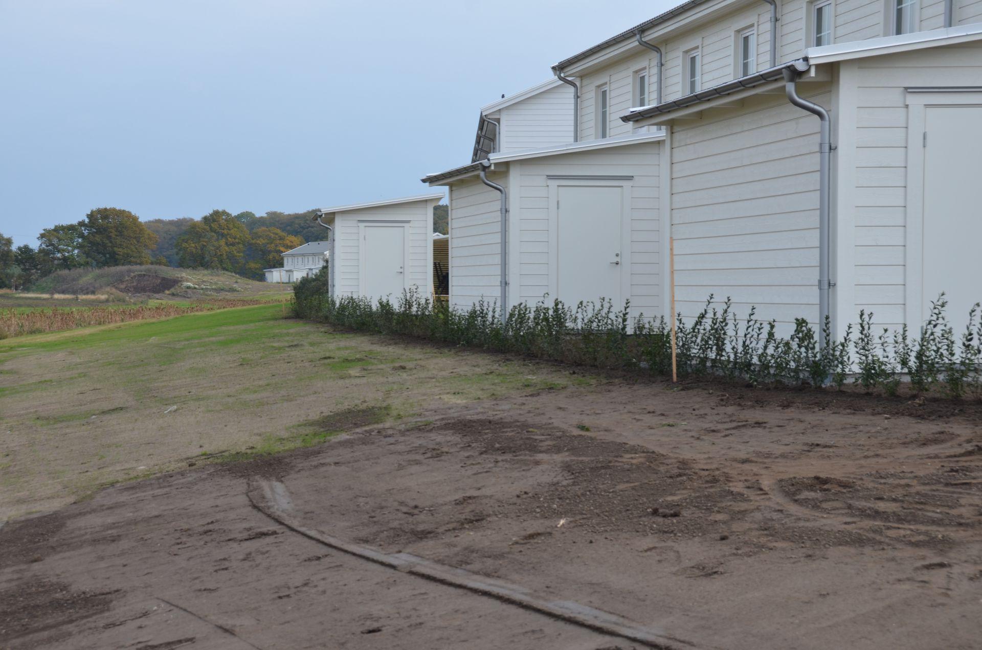 Bjäre Entreprenad utför markarbete för Maria park i Helsingborg