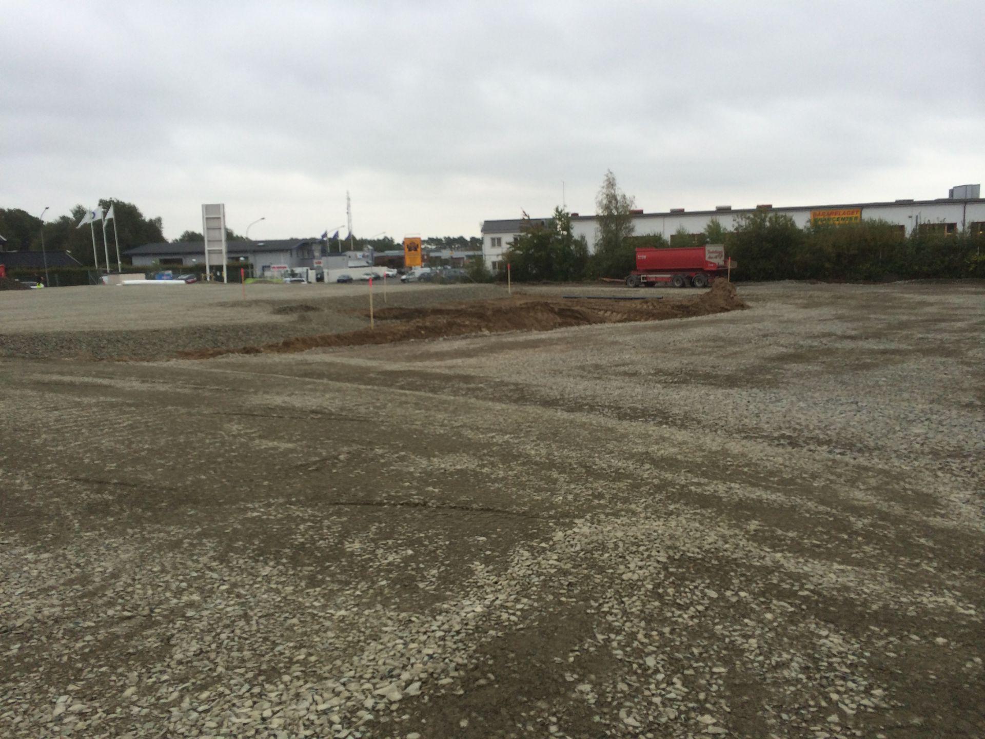 Bjäre Entreprenad har utfört markentreprenad för Kv Kniven i Helsingborg