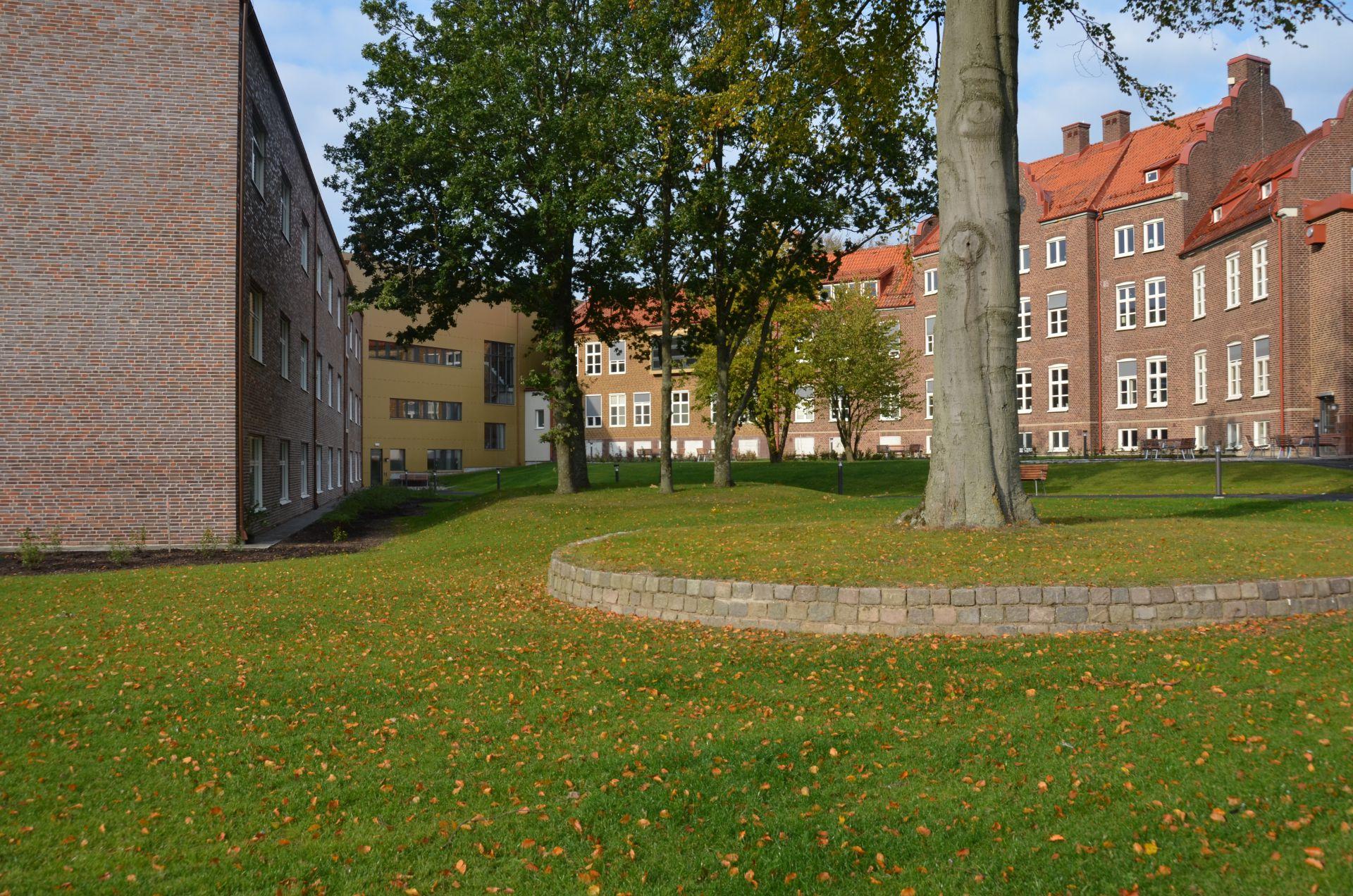 Bjäre Entreprenad gör markarbetet för ombyggnad och tillbyggnad av äldreboende Kungshult i Helsingborg