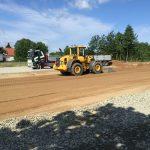 Bjäre Entreprenad lägger grunden till nya bostäder i Höräfsan 2 Laröd