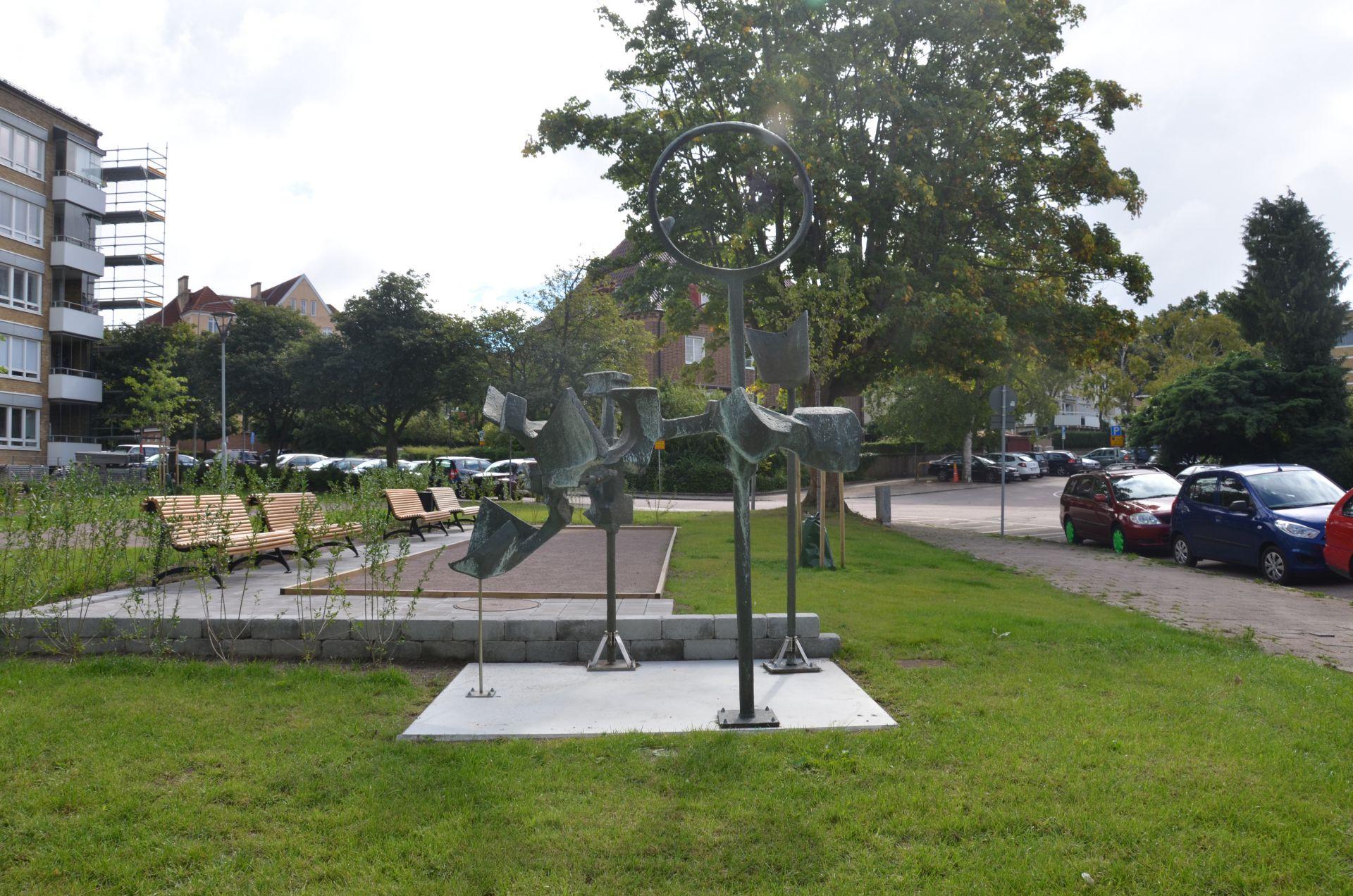 Bjäre Entreprenad utför en totalentreprenad utav parkhusen i Helsingborg