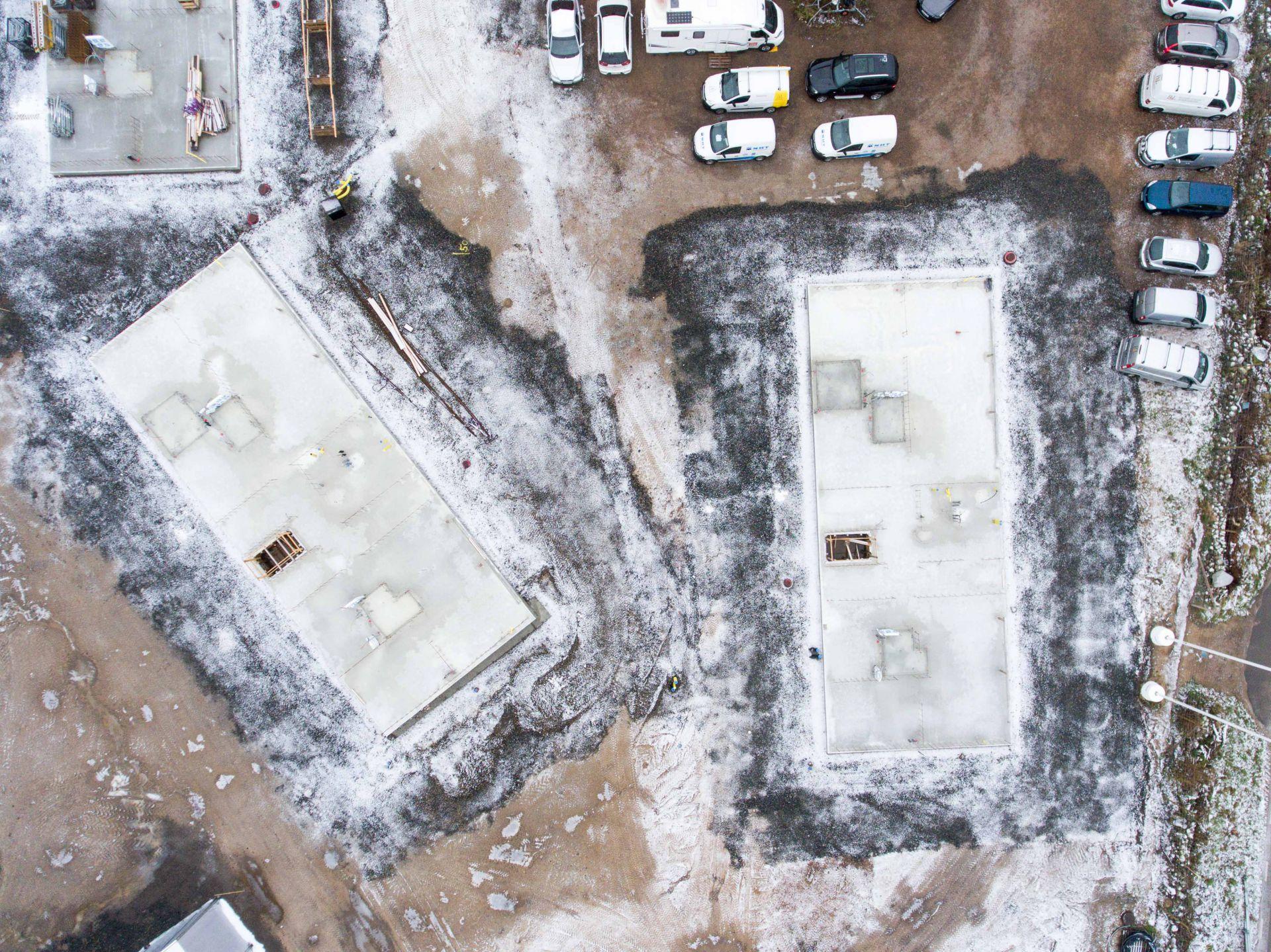 Foto på byggprojektet Norrviken Båstad med fokus på markarbetet