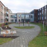 Bjäre Entreprenad gör markentreprenaden till Pålsjö Sjukhem i Helsingborg som bestod av bestod av grundläggning, yttre VA samt finplanering