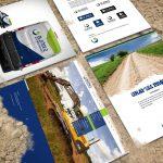 Bjare Entreprenads nya grafiska profil