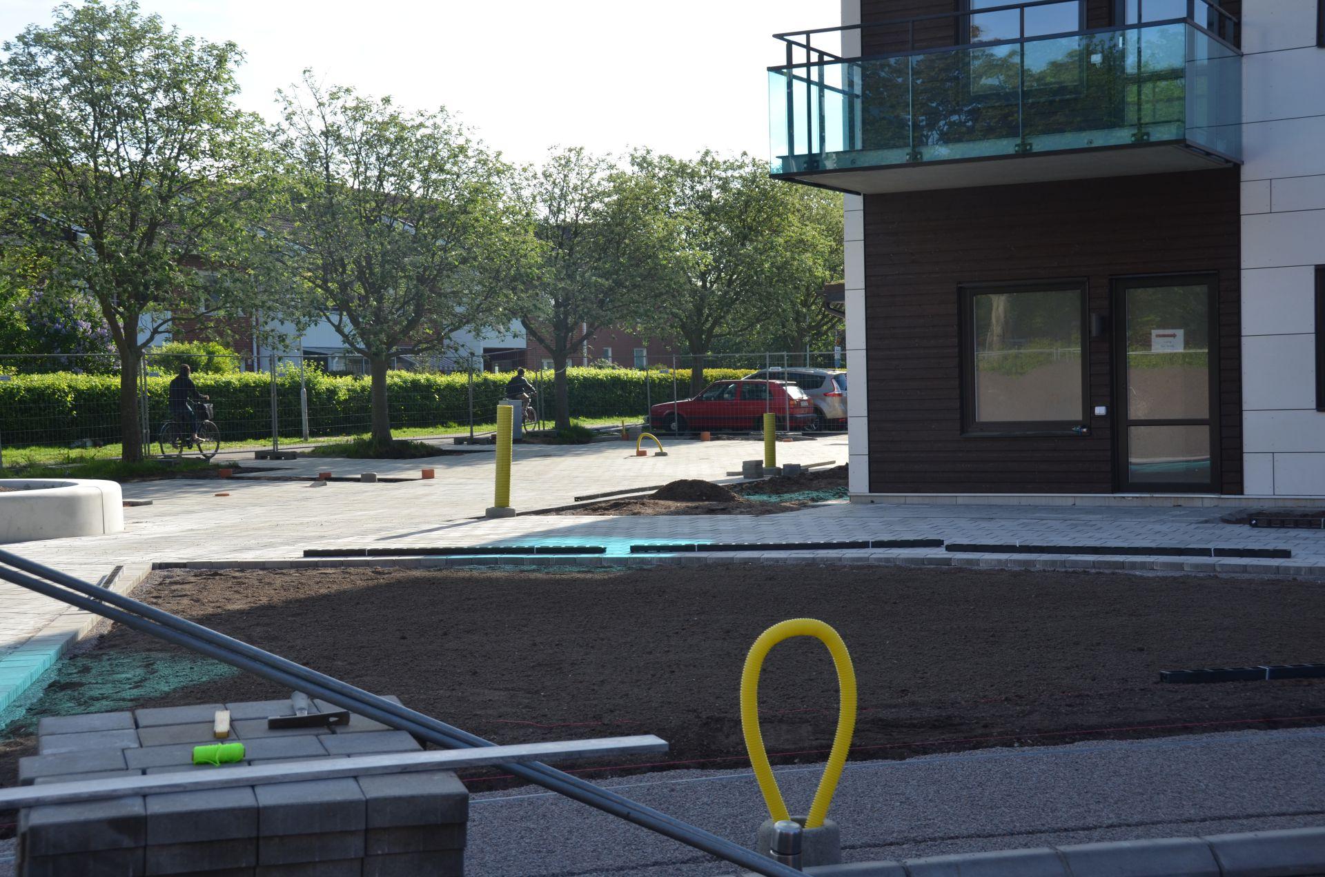 Bjäre Entreprenad utför markarbete för två stycken flerbostadshus i Husensjö Helsingborg